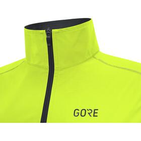 GORE WEAR R3 Windstopper Kamizelka do biegania Mężczyźni żółty